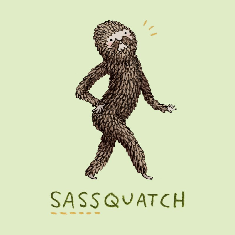Sassquatch Home Fine Art Print by Sophie Corrigan Shop