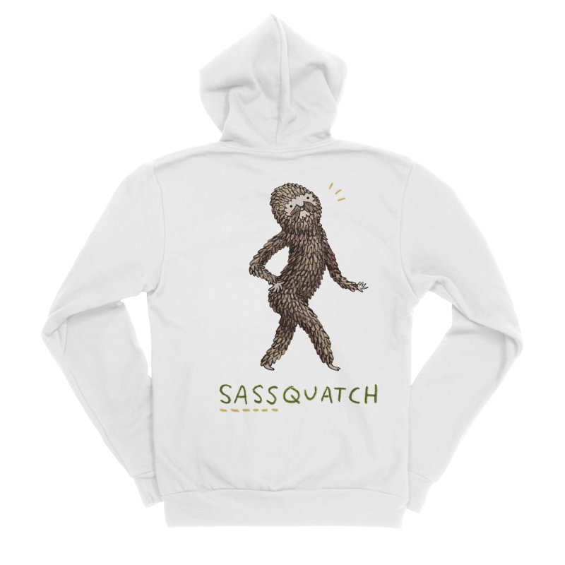 Sassquatch Men's Zip-Up Hoody by Sophie Corrigan Shop