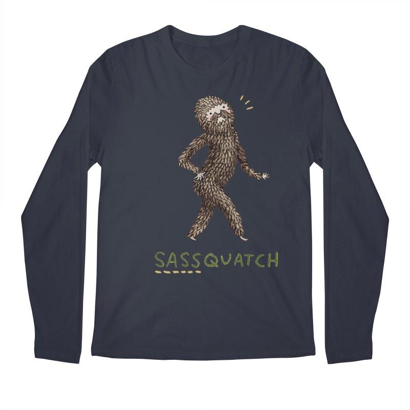 Sassquatch Men's Longsleeve T-Shirt by Sophie Corrigan Shop