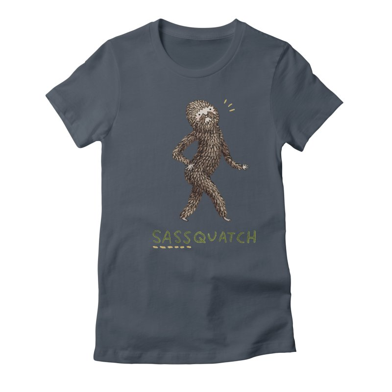 Sassquatch Women's T-Shirt by Sophie Corrigan Shop