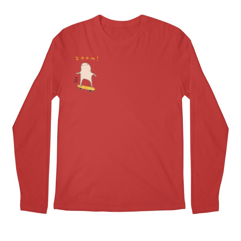 Honest Blob - Zoom! Men's Longsleeve T-Shirt by Sophie Corrigan Shop