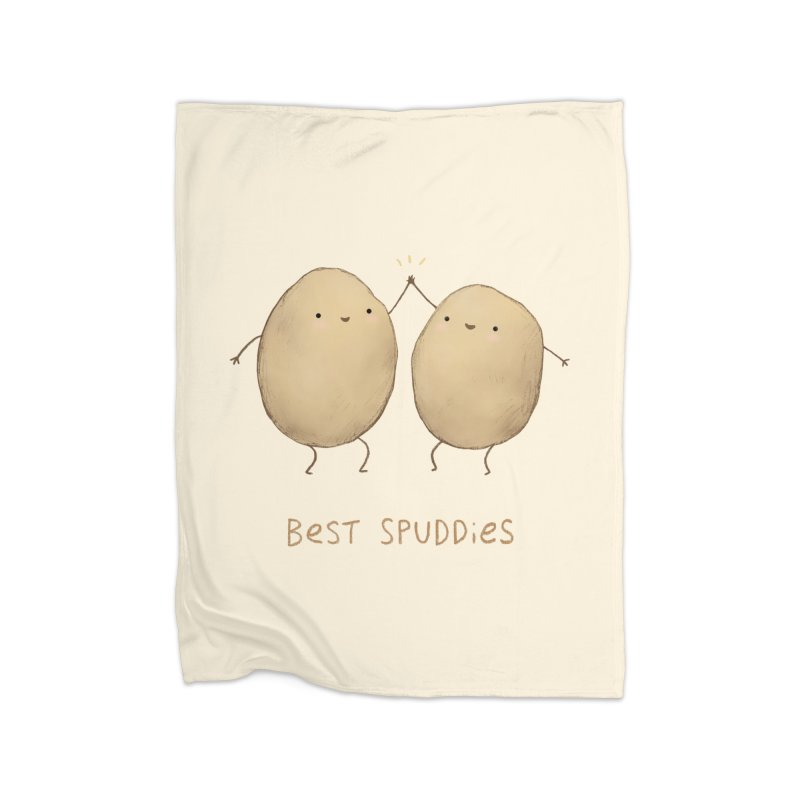 Best Spuddies Home Blanket by Sophie Corrigan Shop