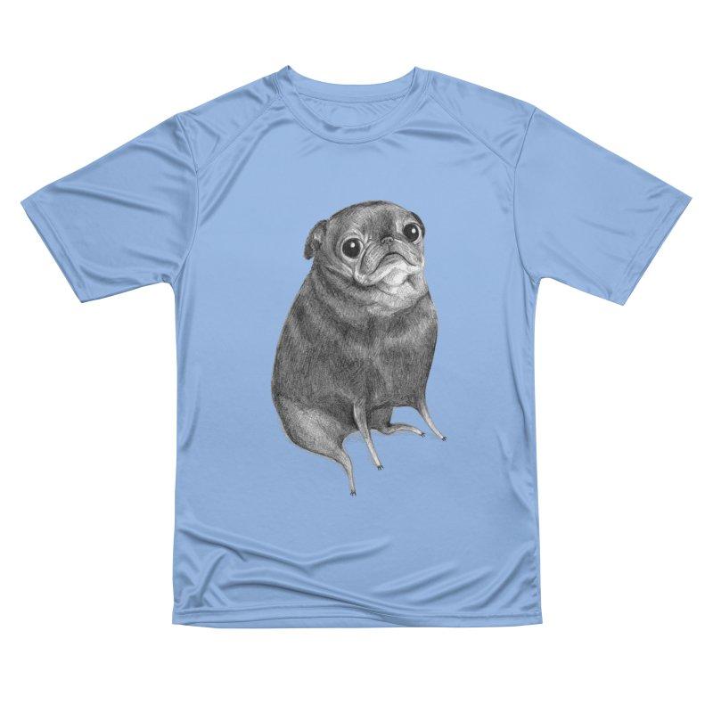 Sweet Black Pug Women's T-Shirt by Sophie Corrigan Shop