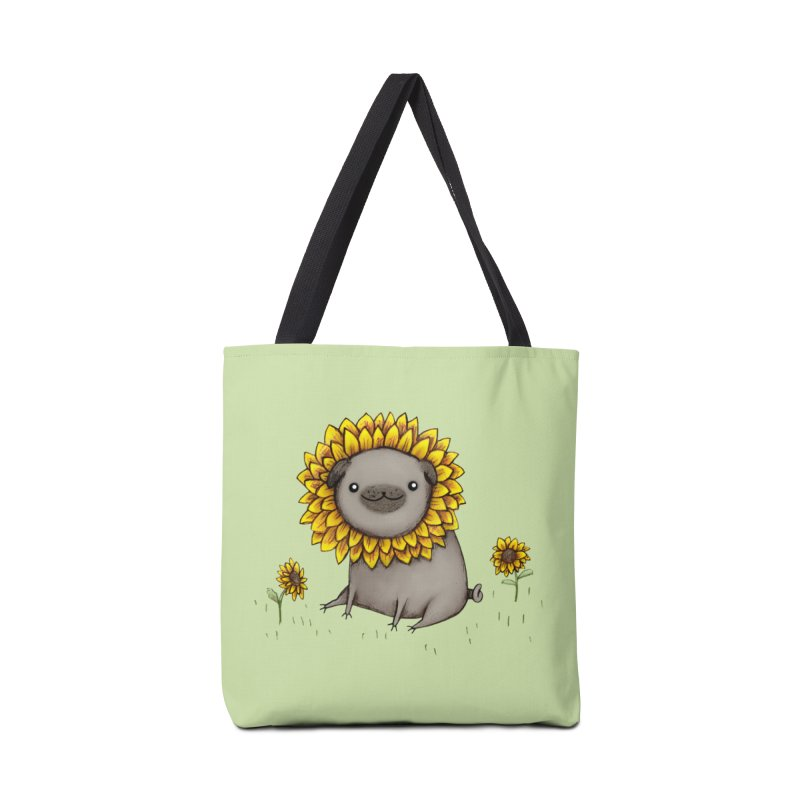 Pugflower Accessories Bag by Sophie Corrigan Shop