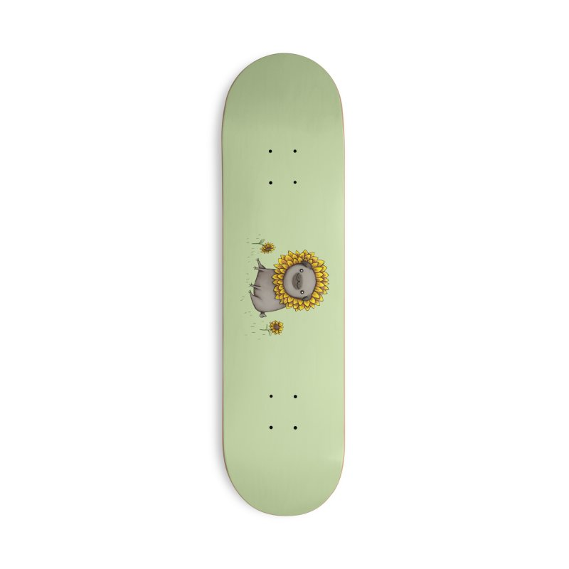 Pugflower Accessories Skateboard by Sophie Corrigan Shop