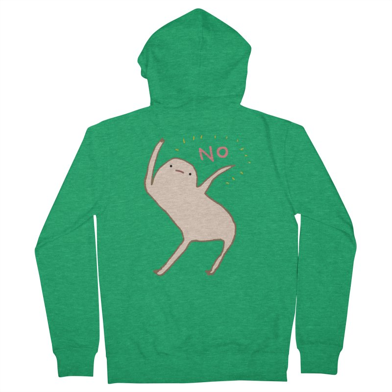 Honest Blob Says No Men's Zip-Up Hoody by Sophie Corrigan Shop