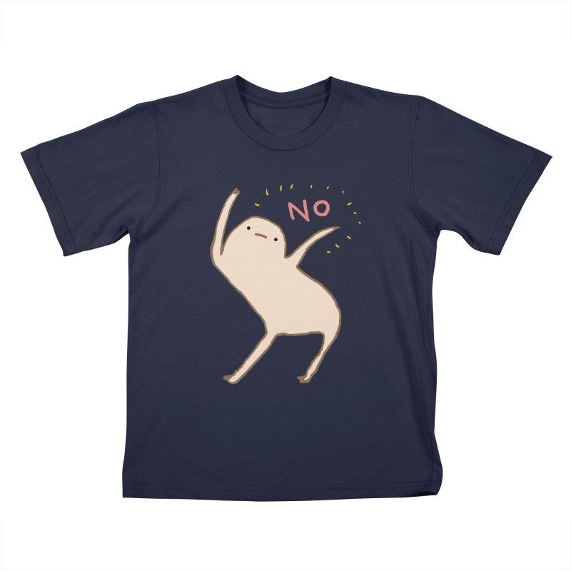 Honest Blob Says No Kids T-Shirt by Sophie Corrigan Shop