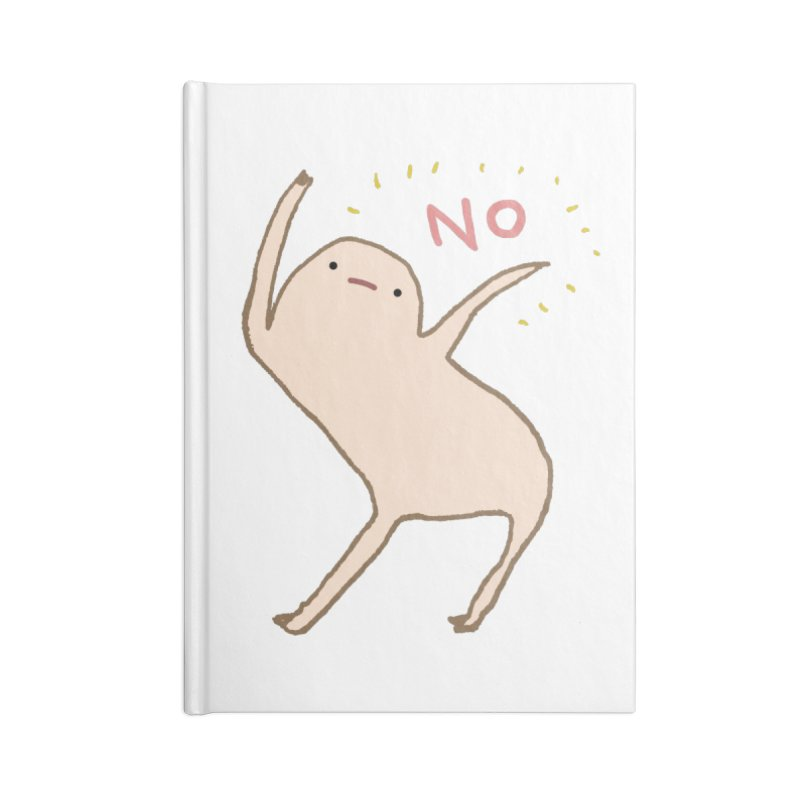 Honest Blob Says No Accessories Notebook by Sophie Corrigan Shop