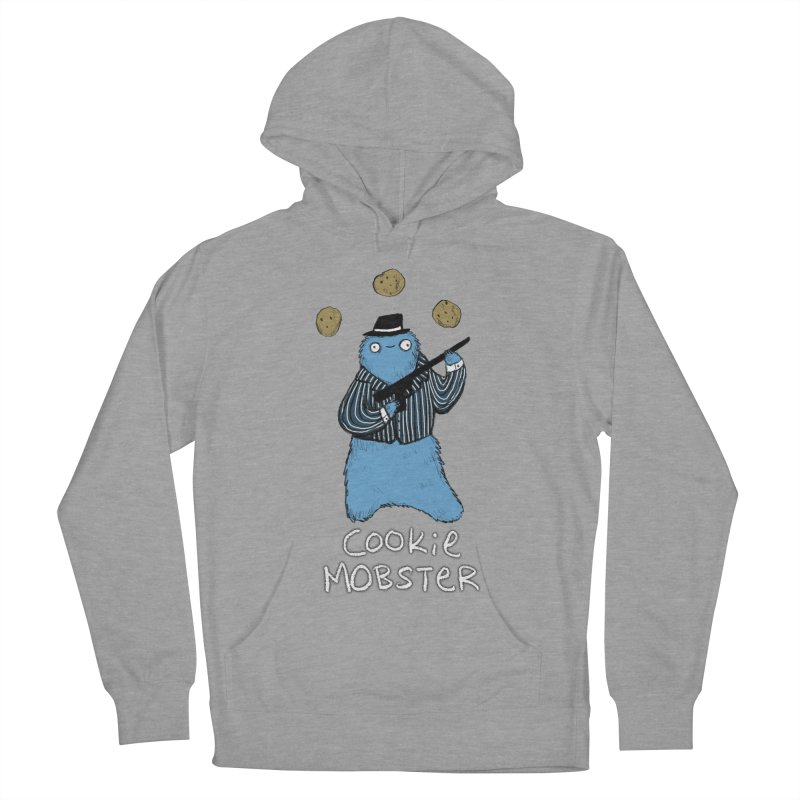 Cookie Mobster Men's French Terry Pullover Hoody by Sophie Corrigan's Artist Shop