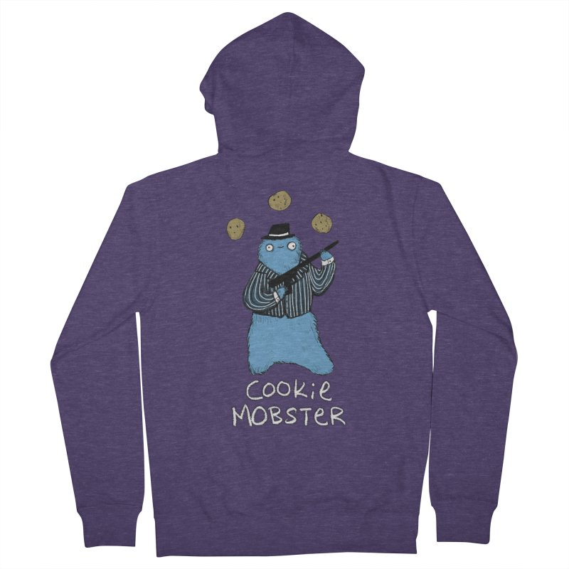 Cookie Mobster Men's Zip-Up Hoody by Sophie Corrigan's Artist Shop