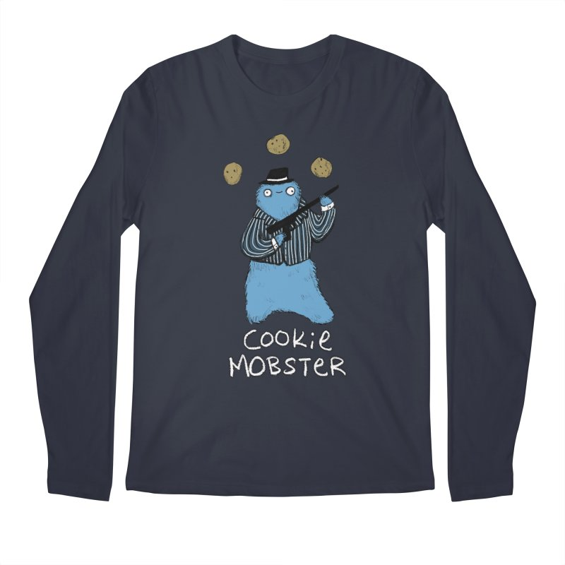 Cookie Mobster Men's Regular Longsleeve T-Shirt by Sophie Corrigan's Artist Shop
