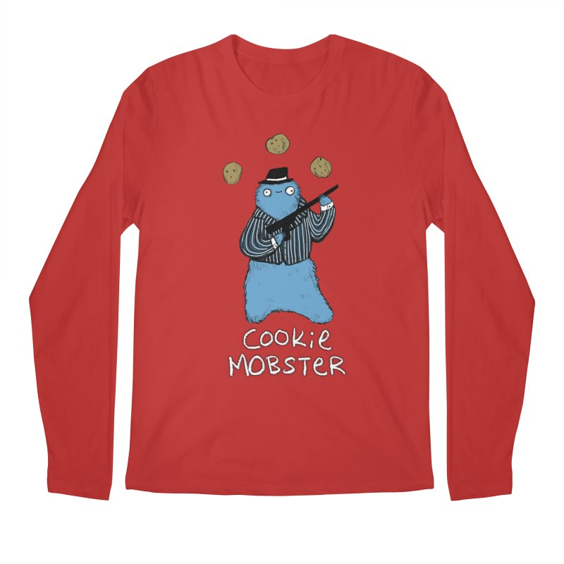 Cookie Mobster Men's Regular Longsleeve T-Shirt by Sophie Corrigan's Artist Shop