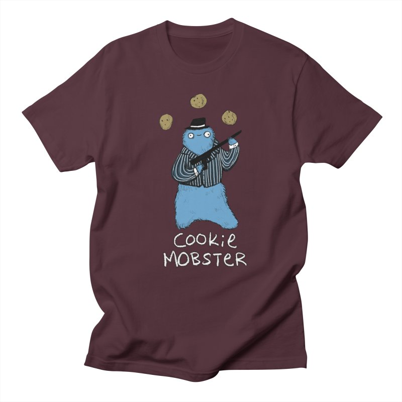 Cookie Mobster Men's T-shirt by Sophie Corrigan's Artist Shop