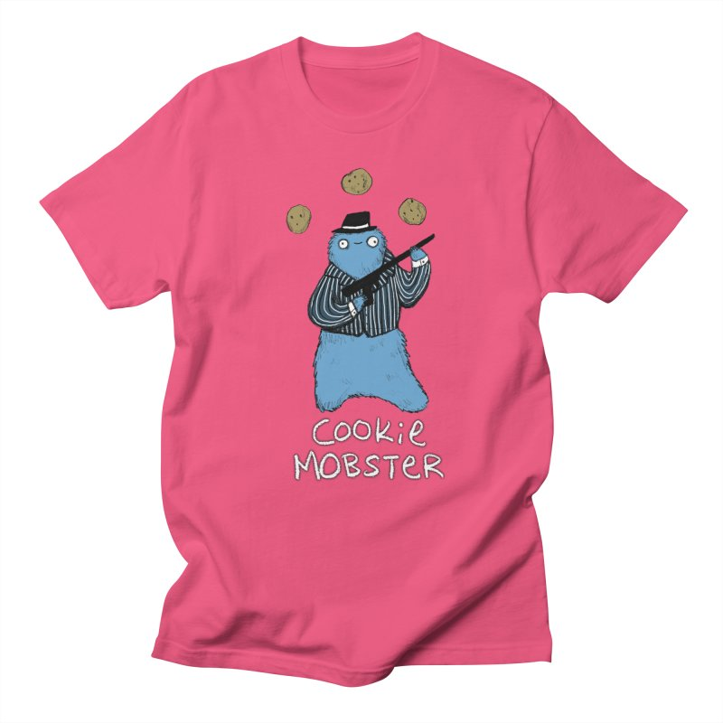 Cookie Mobster Men's Regular T-Shirt by Sophie Corrigan's Artist Shop