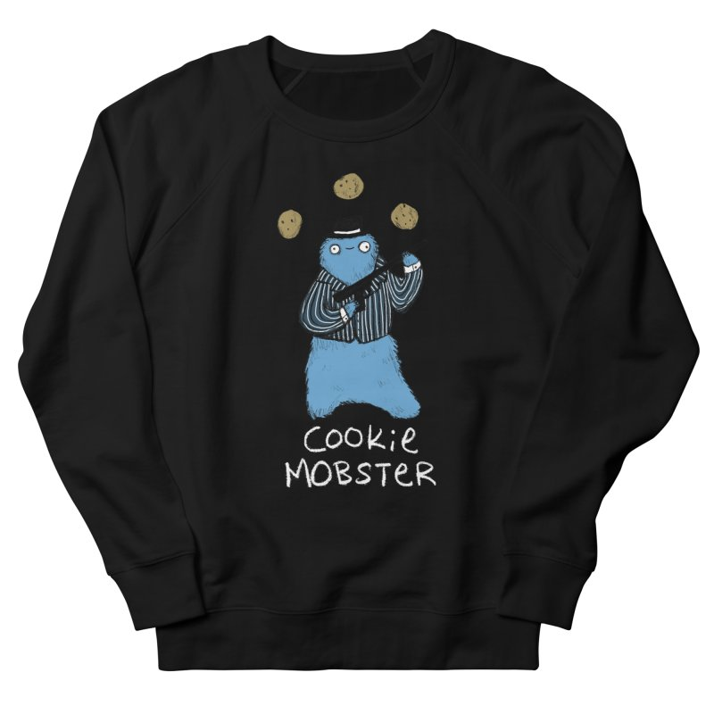 Cookie Mobster Men's French Terry Sweatshirt by Sophie Corrigan's Artist Shop