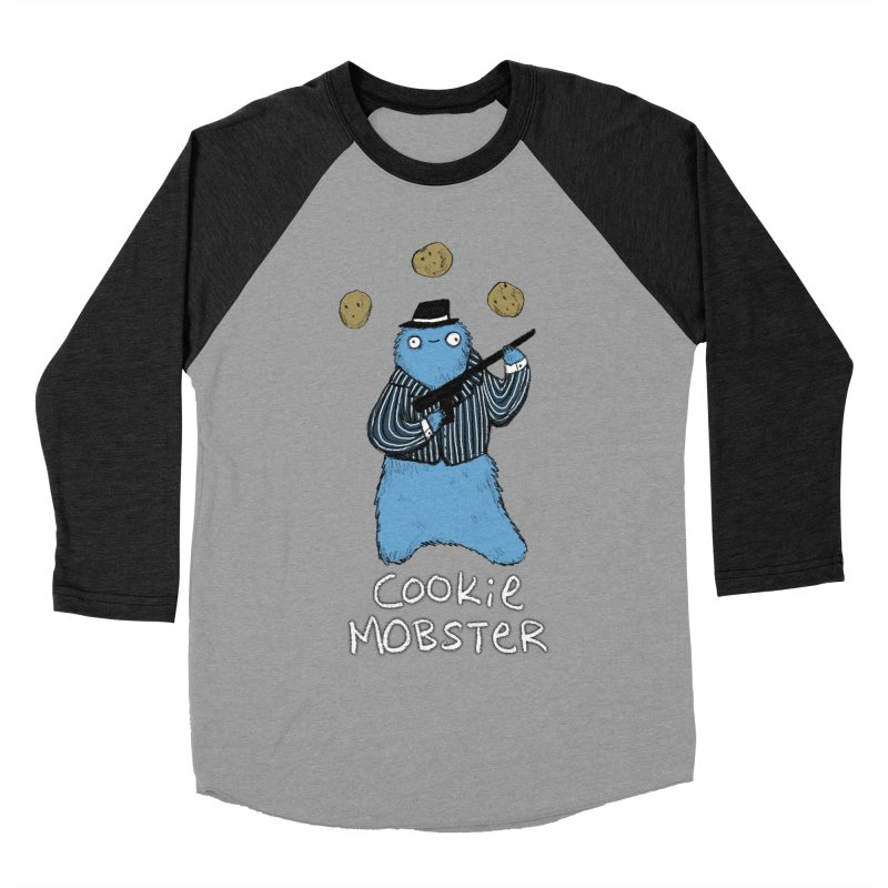 Cookie Mobster Women's Baseball Triblend Longsleeve T-Shirt by Sophie Corrigan's Artist Shop