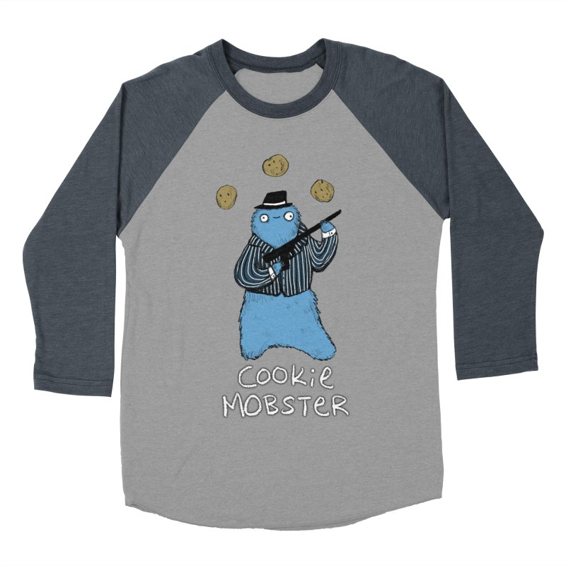 Cookie Mobster Women's Baseball Triblend Longsleeve T-Shirt by Sophie Corrigan's Artist Shop