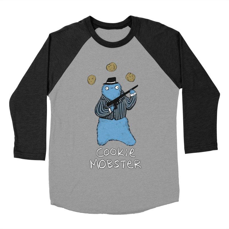 Cookie Mobster Men's Baseball Triblend T-Shirt by Sophie Corrigan's Artist Shop