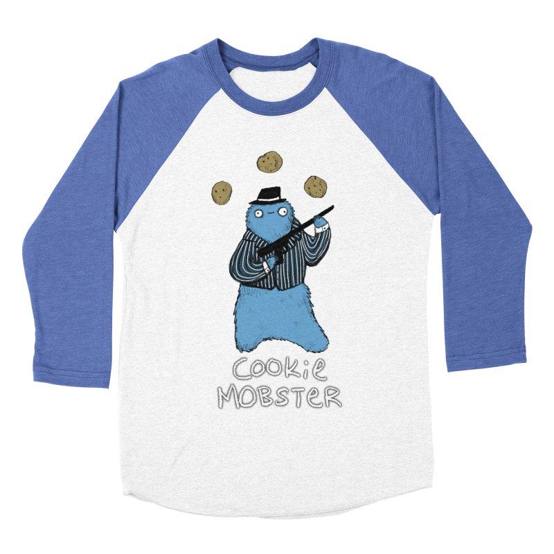 Cookie Mobster Men's Baseball Triblend Longsleeve T-Shirt by Sophie Corrigan's Artist Shop