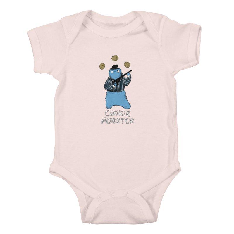 Cookie Mobster Kids Baby Bodysuit by Sophie Corrigan's Artist Shop