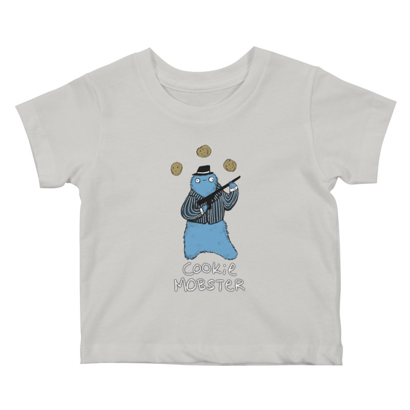 Cookie Mobster Kids Baby T-Shirt by Sophie Corrigan's Artist Shop