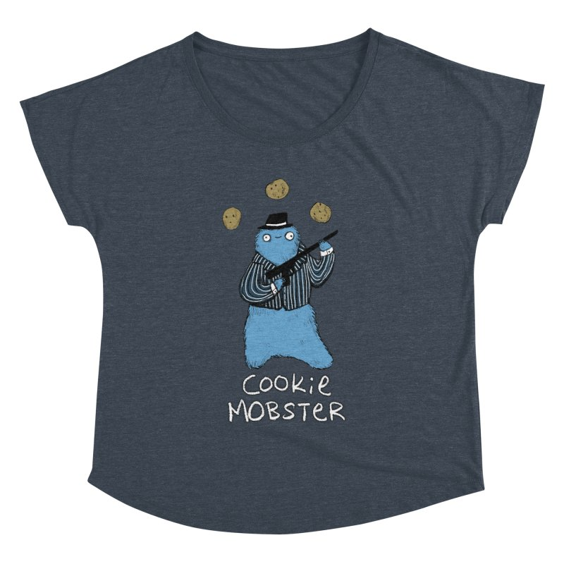 Cookie Mobster Women's Dolman Scoop Neck by Sophie Corrigan's Artist Shop