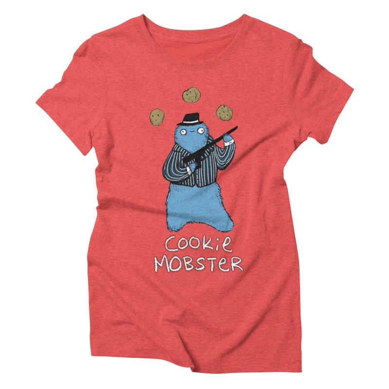 Cookie Mobster Women's Triblend T-shirt by Sophie Corrigan's Artist Shop
