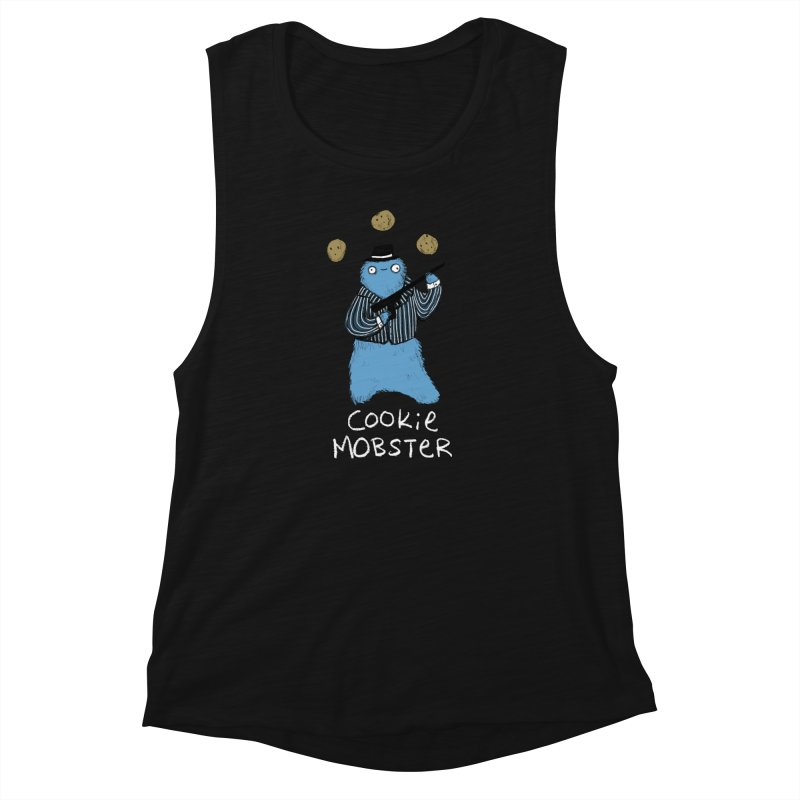 Cookie Mobster Women's Muscle Tank by Sophie Corrigan's Artist Shop