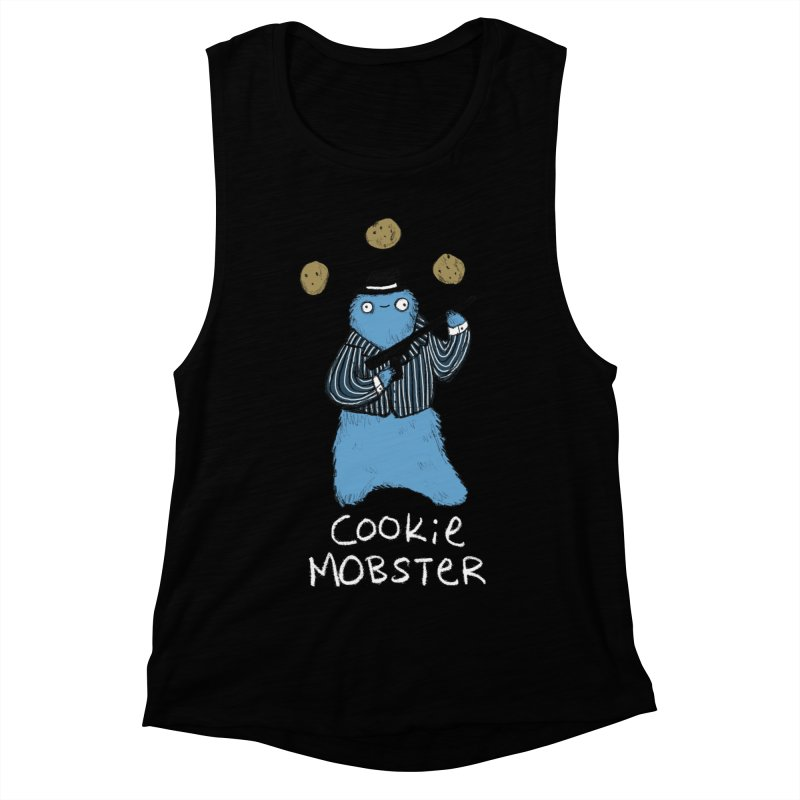 Cookie Mobster Women's Muscle Tank by Sophie Corrigan's Artist Shop