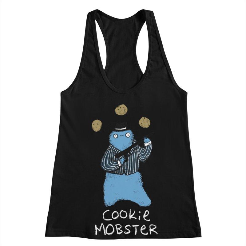 Cookie Mobster Women's Racerback Tank by Sophie Corrigan's Artist Shop