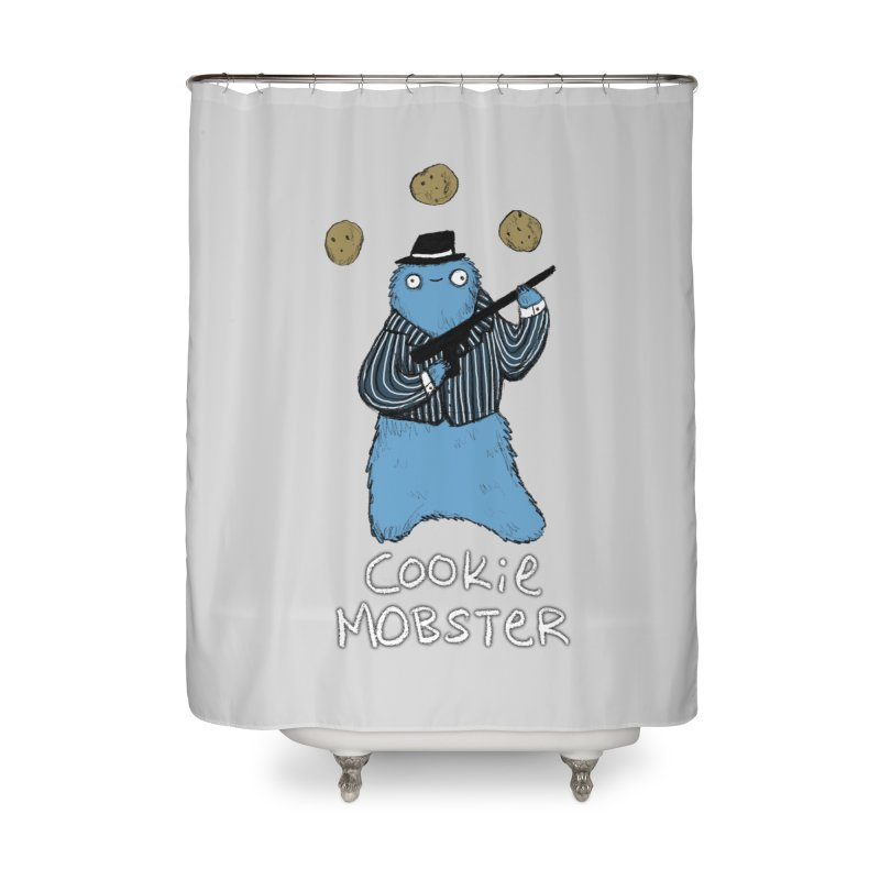 Cookie Mobster Home Shower Curtain by Sophie Corrigan's Artist Shop
