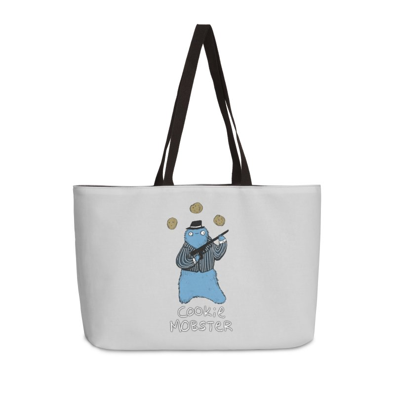 Cookie Mobster Accessories Weekender Bag Bag by Sophie Corrigan's Artist Shop