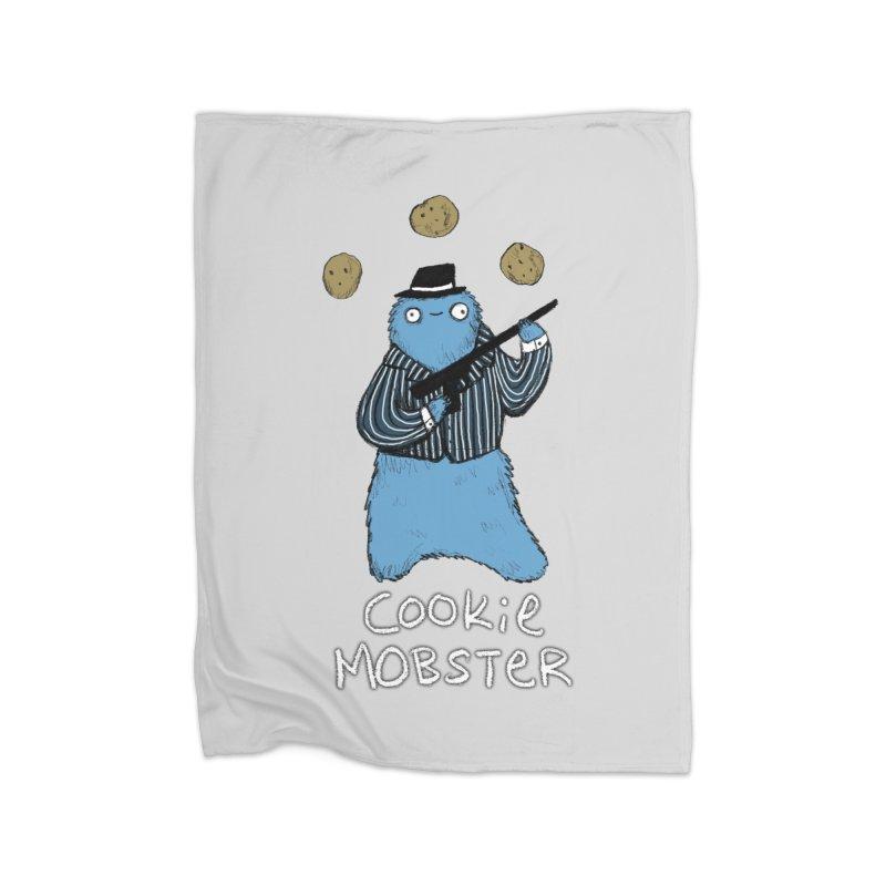Cookie Mobster Home Fleece Blanket Blanket by Sophie Corrigan's Artist Shop