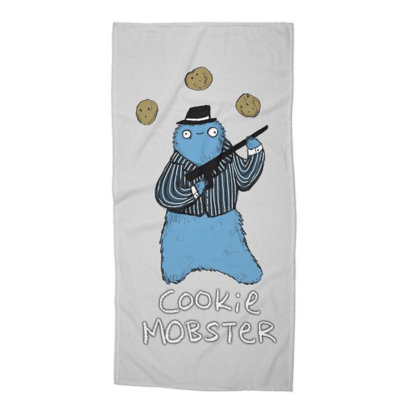 Cookie Mobster Accessories Beach Towel by Sophie Corrigan's Artist Shop