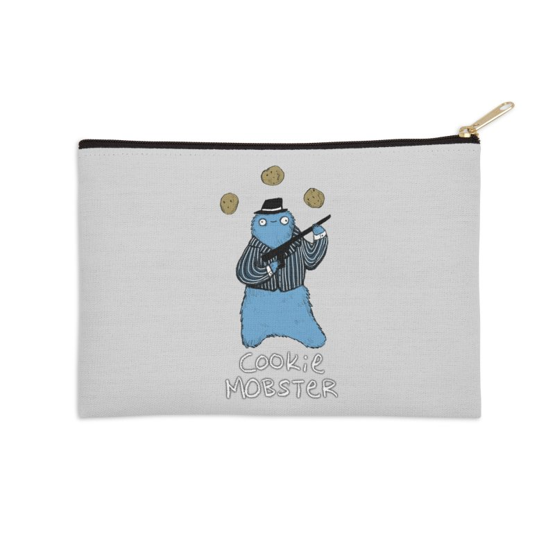 Cookie Mobster Accessories Zip Pouch by Sophie Corrigan's Artist Shop