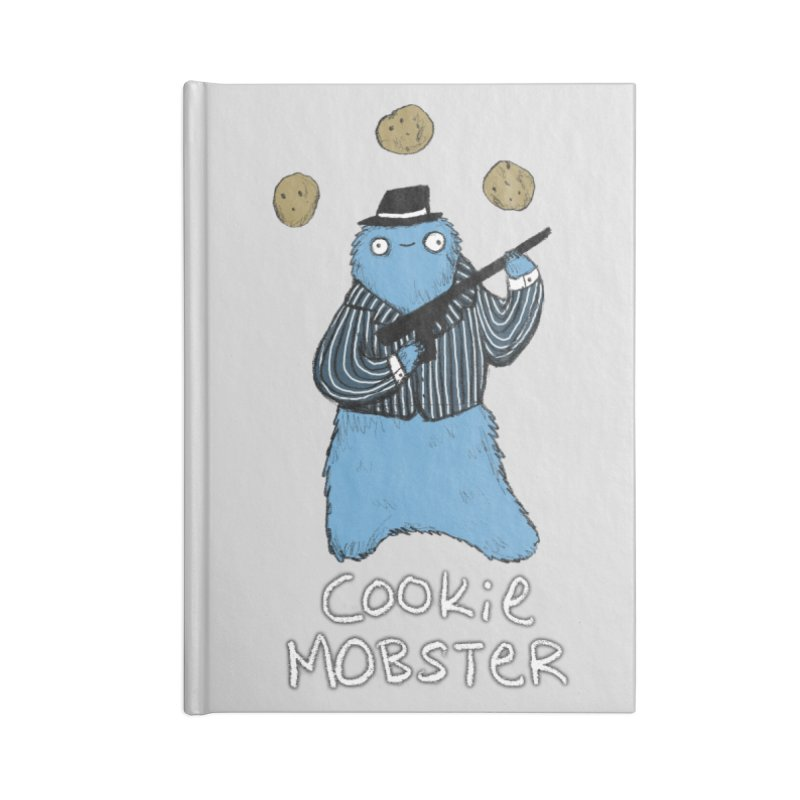 Cookie Mobster Accessories Lined Journal Notebook by Sophie Corrigan's Artist Shop