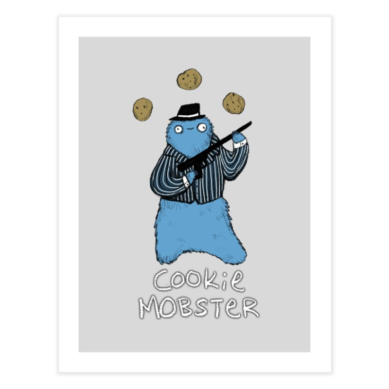 Cookie Mobster Home Fine Art Print by Sophie Corrigan's Artist Shop