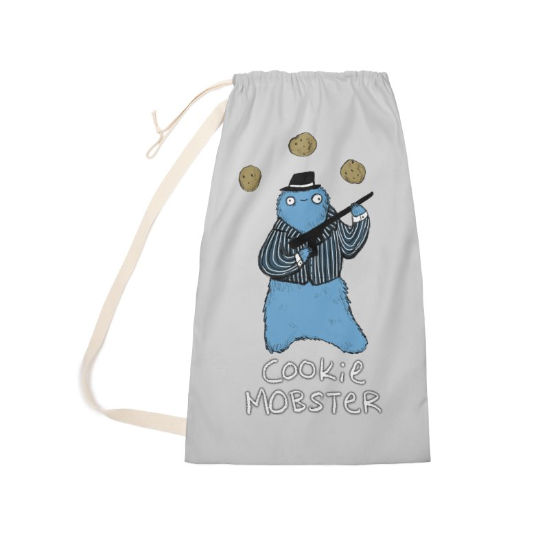 Cookie Mobster Accessories Laundry Bag Bag by Sophie Corrigan's Artist Shop