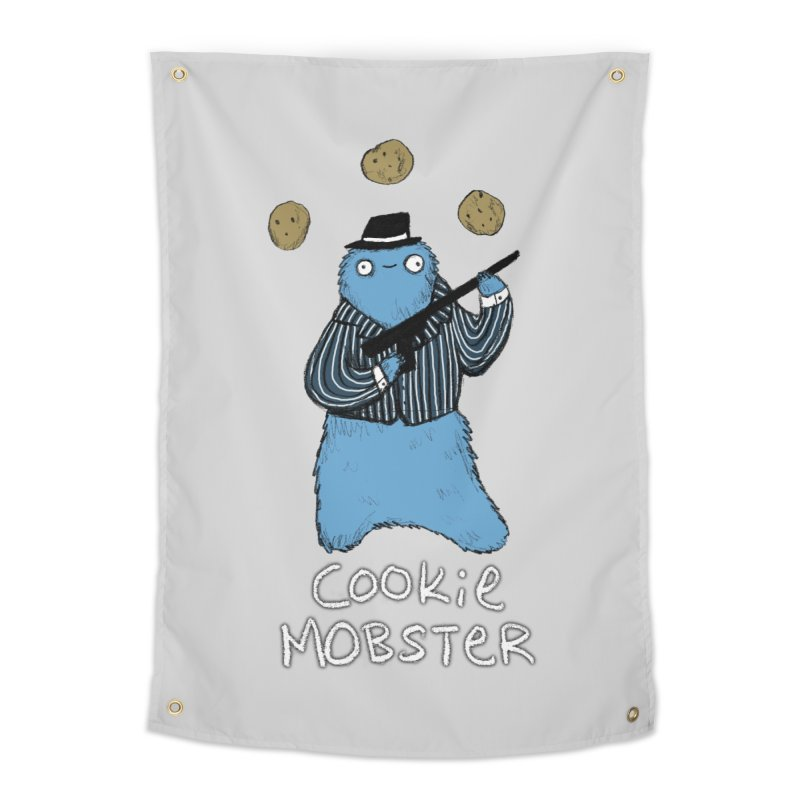 Cookie Mobster Home Tapestry by Sophie Corrigan's Artist Shop
