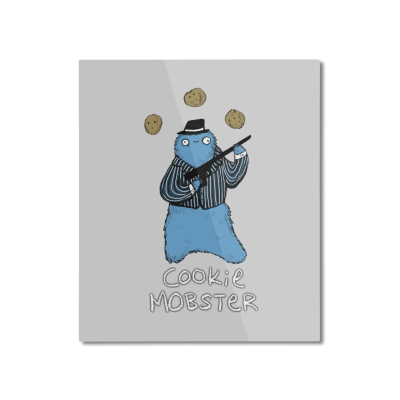 Cookie Mobster Home Mounted Aluminum Print by Sophie Corrigan's Artist Shop