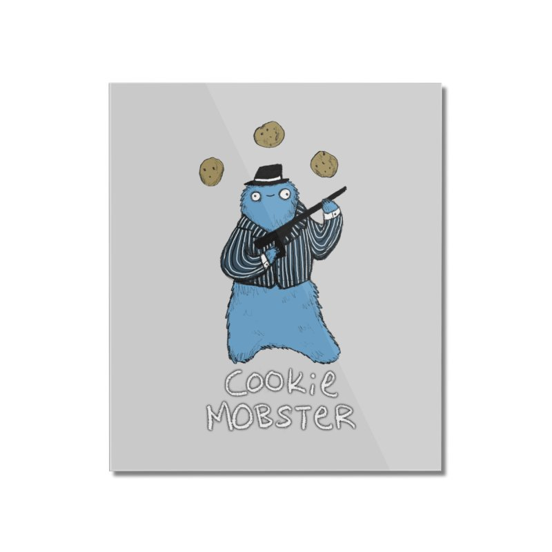 Cookie Mobster Home Mounted Acrylic Print by Sophie Corrigan's Artist Shop