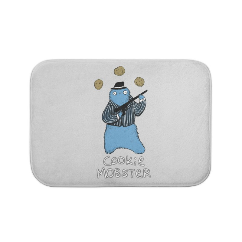 Cookie Mobster Home Bath Mat by Sophie Corrigan's Artist Shop