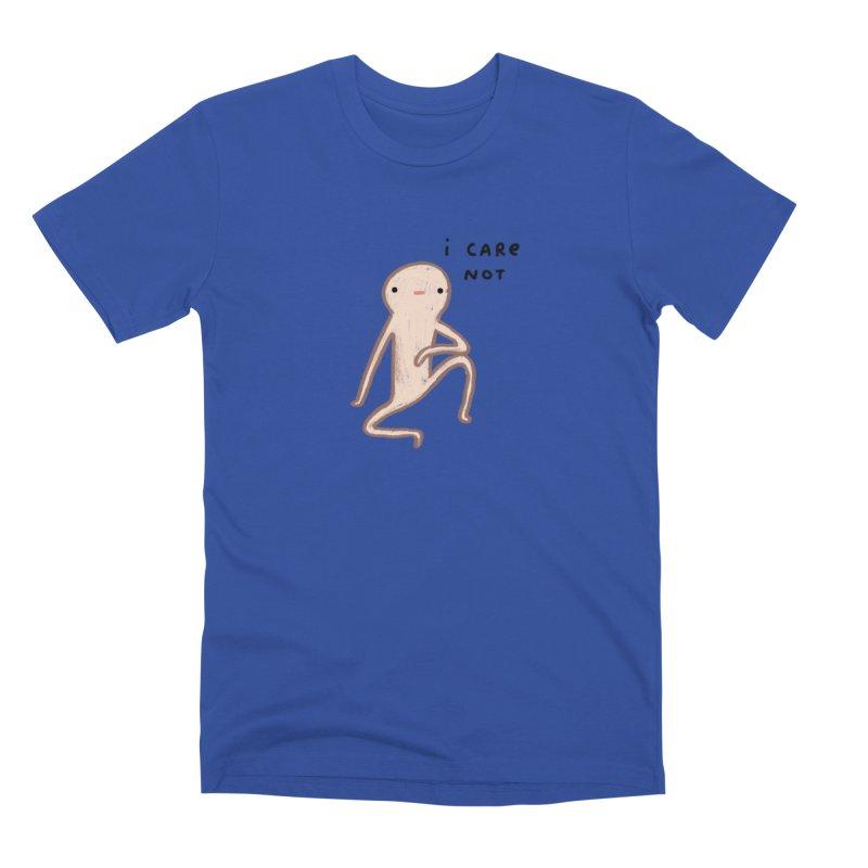 Honest Blob Cares Not Men's Premium T-Shirt by Sophie Corrigan's Artist Shop