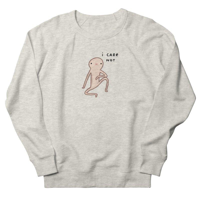 Honest Blob Cares Not Women's French Terry Sweatshirt by Sophie Corrigan's Artist Shop