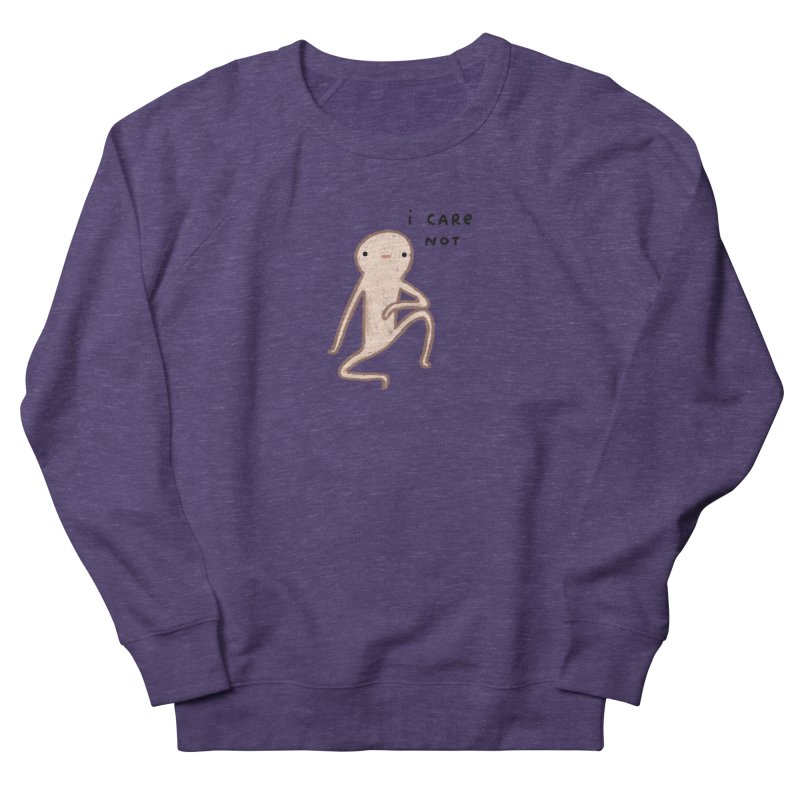 Honest Blob Cares Not Men's French Terry Sweatshirt by Sophie Corrigan's Artist Shop