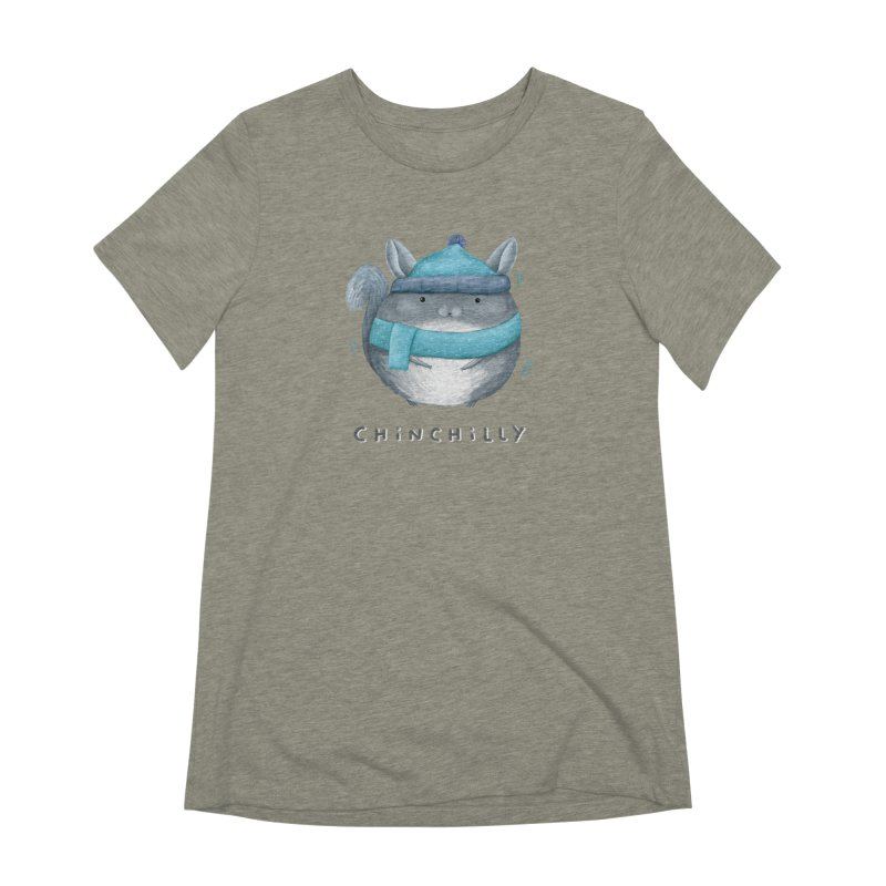 Chinchilly Women's Extra Soft T-Shirt by Sophie Corrigan's Artist Shop