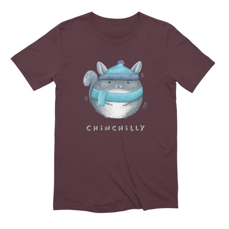 Chinchilly Men's Extra Soft T-Shirt by Sophie Corrigan's Artist Shop