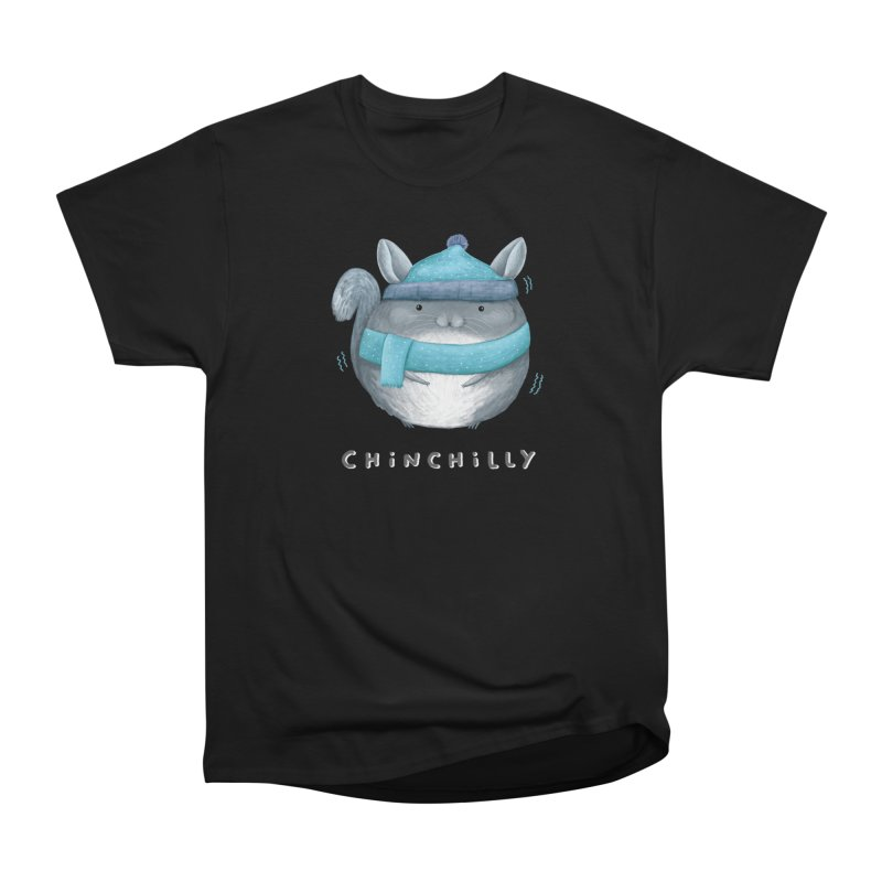 Chinchilly Men's Heavyweight T-Shirt by Sophie Corrigan's Artist Shop
