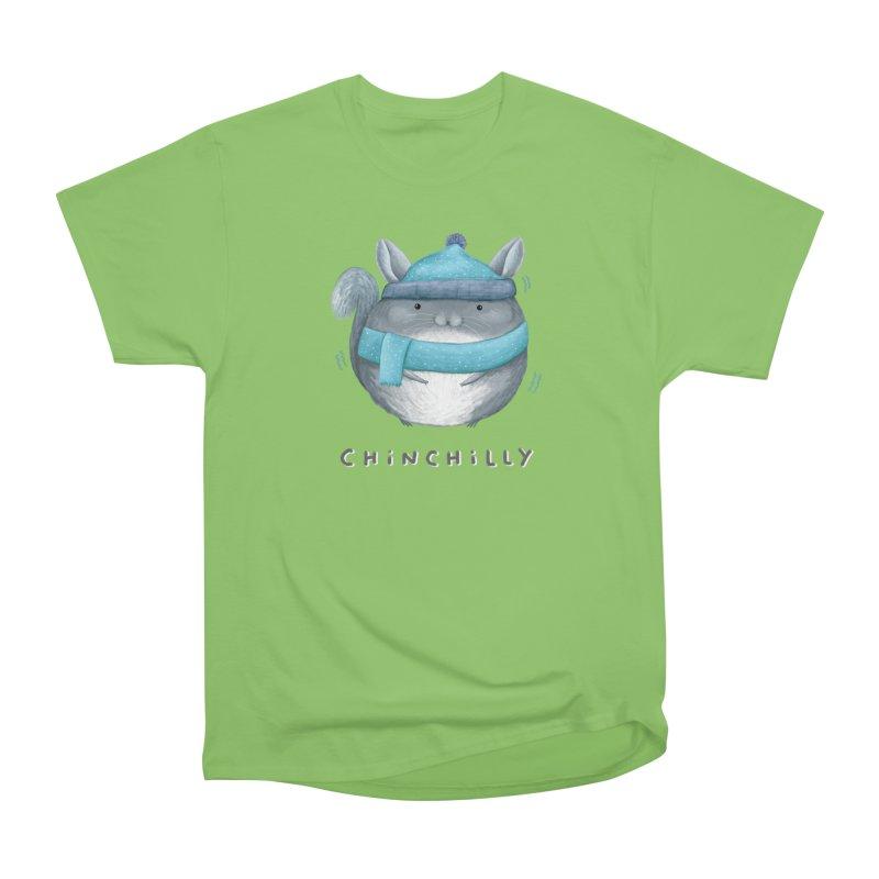 Chinchilly Women's Heavyweight Unisex T-Shirt by Sophie Corrigan's Artist Shop