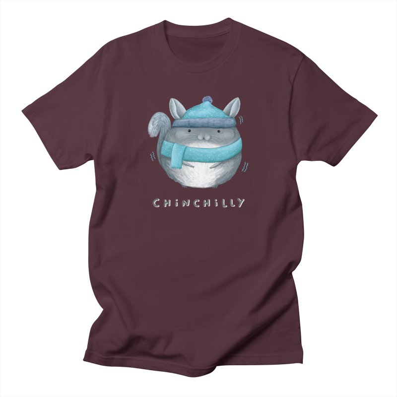 Chinchilly Women's Regular Unisex T-Shirt by Sophie Corrigan's Artist Shop